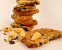 Dinkel Heidelbeer/Schoklade Cookies mmm.