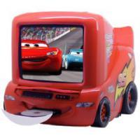 Disney Cars 35,6 cm (14 Zoll) Fernseher mit integriertem DVD-Player