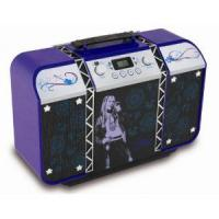 Disney Hannah Montana 550 BE Stereo Radio (Vertikal-CD-Player, UKW-/MW-Tuner) lila