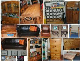 Div. Möbel und Haushaltsgeräte etc. wegen Auswanderung zu verkaufen
