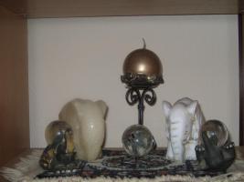 Foto 2 Diverse Elefanten