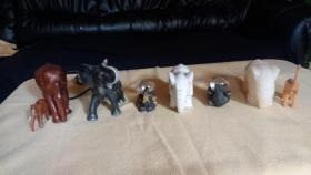 Foto 3 Diverse Elefanten