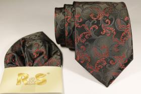 Foto 5 Diverse Krawatten, Einstecktücher Fliegen
