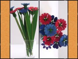 Foto 6 Diverse Stecker � (Herzen, Sterne,  Blumen)