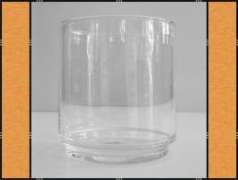 Foto 3 Diverse: Vase, Pflanzgefäß, Windlicht, Glasgefäß – mit Fuß