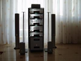 Dolby Surround System 5.1 mit Rack