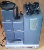 Dolby Surroundsystem mit DVD Player von Medion