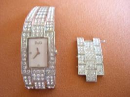 Dolce&Gabbana C'est chic Damenuhr Uhr mit Swarowski Strass-Besatz