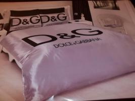 Dolce & Gabana Bettwäsche Satin 6 teilig