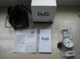Foto 2 Dolce & Gabbana Uhr Chronograph Big Fish D&G Neu OVP