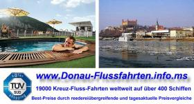 Foto 2 Donau-Fluss-Fahrt Passau-Budapest ab € 449 Vollpension
