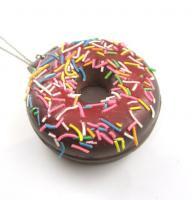 Donut Spiegel Kette