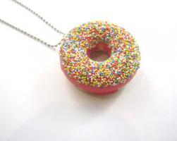Donut mit Streuseln Kette