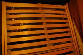 Foto 5 Doppelbett mit 2 Nachtkonsolen (Antik)