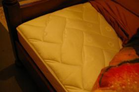 Foto 6 Doppelbett mit 2 Nachtkonsolen (Antik)
