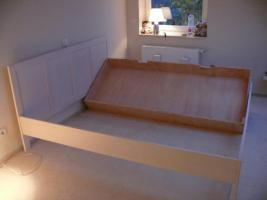 Doppelbett 200x180 mit 2 großen Bettkästen