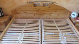 Foto 4 Doppelbett Bett Kiefer Nachttisch