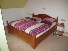 Doppelbett Massivholz