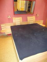 Doppelbett teilmassiv aus Buche/Birke zu verkaufen!
