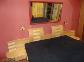 Foto 2 Doppelbett teilmassiv aus Buche/Birke zu verkaufen!