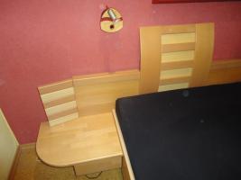 Foto 3 Doppelbett teilmassiv aus Buche/Birke zu verkaufen!
