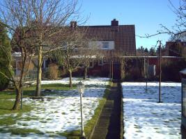 Doppelhaushälfte/Gartenansicht