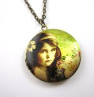 ' Dream of the Rose ' Amulett Kette