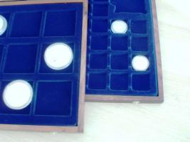 Foto 2 Drei hochwertige Münzenkassetten
