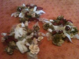 Dreier Blumenset zum Dekoration
