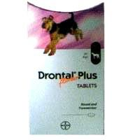 Foto 2 Drontal Plus ist ein Breitspektrum-Anthelminthikum f�r Hunde.