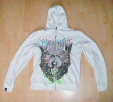 Drop Dead Clothing Zipper (Kapuzenjacke), Gr.: S, Farbe: weiß