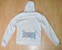 Foto 2 Drop Dead Clothing Zipper (Kapuzenjacke), Gr.: S, Farbe: weiß