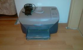 Drucker, HP PSC 720 + schwarze Patrone, ausgetrocknete Farbpatrone