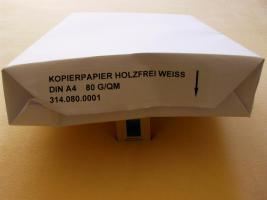 Drucker - u. Kopierpapier  500 Blatt weiss  80g qm