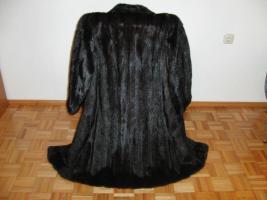 Dunkelbrauner Nerzmantel - Größe 38/40 zu verkaufen