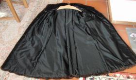 Foto 3 Dunkelbrauner Nerzmantel - Größe 38/40 zu verkaufen