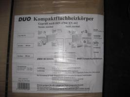 Duo  Kompaktheizkörper  ,  neu  , orginalverpakt