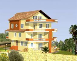 Duplex-Wohnung mit Meerblick, Pool und Fussbodenheizung in der Türkei