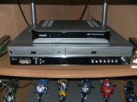 DvD-VHS-Kombiger�t mit Home Cinema