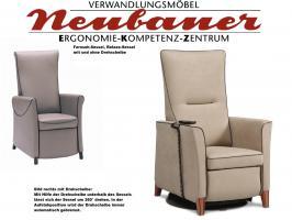 Dynamisches Sitzen im ergonomischen Sessel