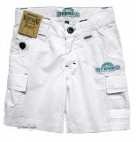 E-Bound Jungen Bermuda/Short, weiß, Größe 116