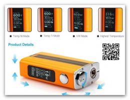 Foto 2 E-CIG Joyetech eVic VT 60W Variable Wattage Temperature Control