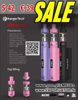 E-Cig Kanger Topbox Nano 60W TC Kit topfilling Toptank € 39