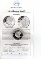 ECU Silbermünze Luxemburg