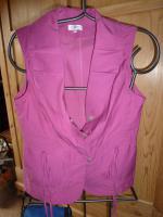 Foto 3 ERFO Damen weste Ärmellos in pink-altrosa