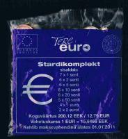 ESTLAND Offizielles Euro Starterkit Jahr 2011 Bankfrisch .