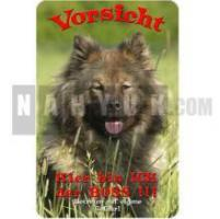 EURASIER Warnschild Hundewarnschild