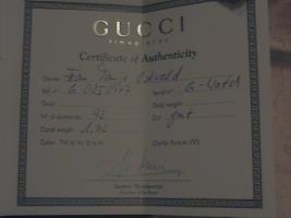 Echte Gucci Uhr* Edelstahl mit Diamanten und Zertifikat