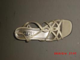 Foto 3 Echter Leder Sandalen Gr. 39 in beige