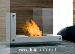 Echtfeuer Kamine ohne Schornstein